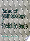 Research Methodology in Social Science
