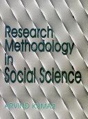 Research Methodology in Social Science