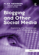 Pdf Blogging and Other Social Media Telecharger