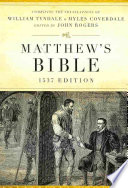 Matthew's Bible-OE-1537