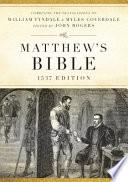 Matthew's Bible-OE-1537