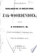 Volledig Nederlandsch Eng  en Engelsch Nederl  zak woordenboek Book