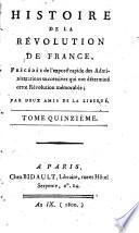 Histoire de la Révolution de France