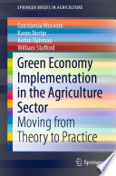 Green Economy Implementation in the Agriculture Sector