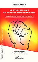 Pdf Le syndicalisme en Afrique subsaharienne Telecharger