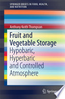 Fruit And Vegetable Storage Book PDF