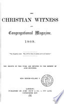 The Christian Witness and Congregational Magazine