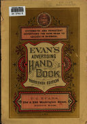 Evans  Advertising Hand book