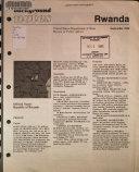 Background notes  Rwanda