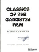 Classics of the Gangster Film Book