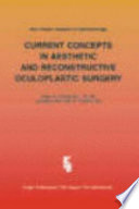 Current Concepts In Aesthetic And Reconstructive Oculoplastic Surgery Book PDF