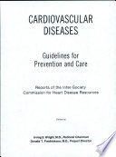 Cardiovascular Diseases  Guidelines for Prevention and Care
