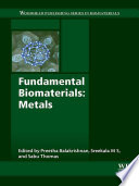 Fundamental Biomaterials  Metals Book