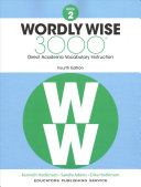 Wordly Wise 3000 Book 2 Book