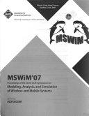 MSWiM  07 Book