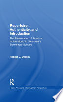 Repertoire  Authenticity and Introduction