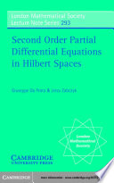 Second Order Partial Differential Equations in Hilbert Spaces