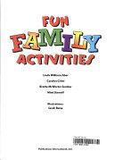 Fun Family Activities Book PDF