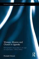 Women  Mission and Church in Uganda