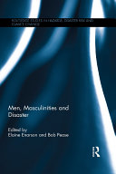 Men, Masculinities and Disaster Pdf/ePub eBook