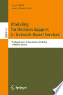 Modeling For Decision Support In Network Based Services Book PDF