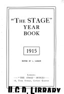 The Stage Year Book With Which Is Included The Stage Periodical Guide PDF