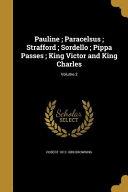 PAULINE PARACELSUS STRAFFORD S