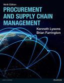 Procurement And Supply Chain Management Pdf Ebook