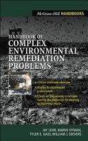 Handbook of Complex Environmental Remediation Problems