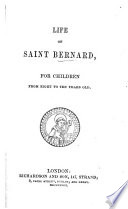 Life of saint Bernard  for children from eight to ten years old Book