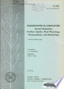 Radioisotopes in Agriculture Book
