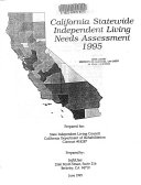 California Statewide Independent Living Needs Assessment