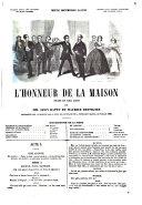 L'honneur de la maison drame en cinq actes par Leéon Battu et Maurice Desvignes