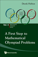 A First Step to Mathematical Olympiad Problems Book PDF
