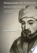 Maimonides on Teshuvah