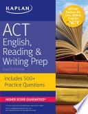 ACT English  Reading   Writing Prep