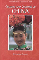 Culture and Customs of China Book