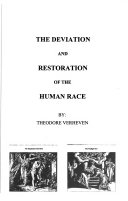 The Deviation And Restoration Of The Human Race