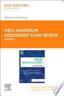 Admission Assessment Exam Review E Book
