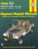 Jeep CJ 1949 thru 1986