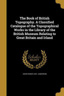 Bk Of British Topography A Cla