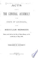 Actes Passés À la Session de la Législature de L'état de la Louisiane Pdf/ePub eBook