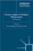 Former Leaders in Modern Democracies