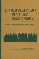 International Crimes, Peace, and Human Rights