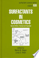 Surfactants in Cosmetics, Second Edition,