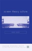 Screen Theory Culture Book