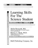 Learning Skills for the Science Student