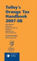 Tolley s Orange Tax Handbook 2007 08 Book