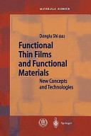 Functional Thin Films and Functional Materials