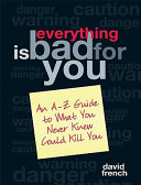 Everything Is Bad for You Pdf/ePub eBook
